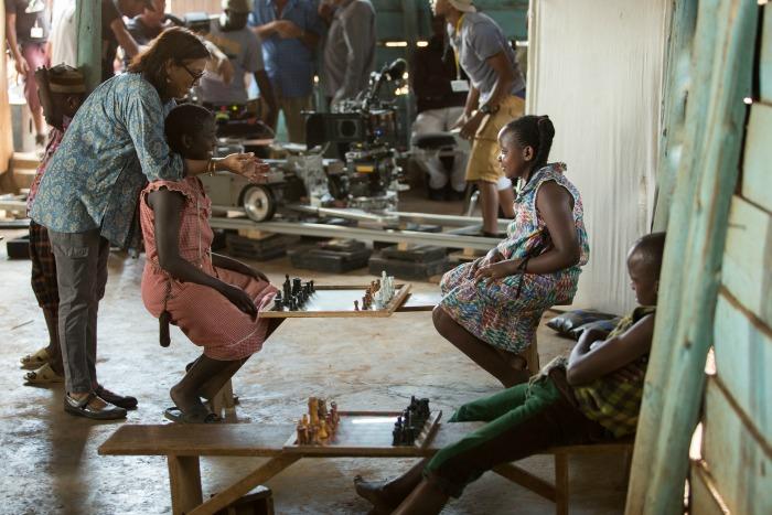 Director Mira Nair at Work