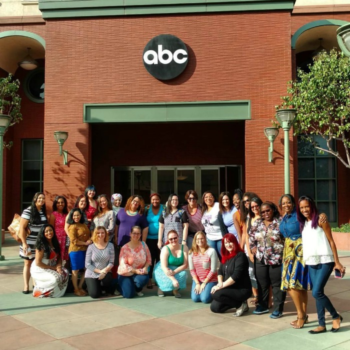 Disney Bloggers at the ABC Building