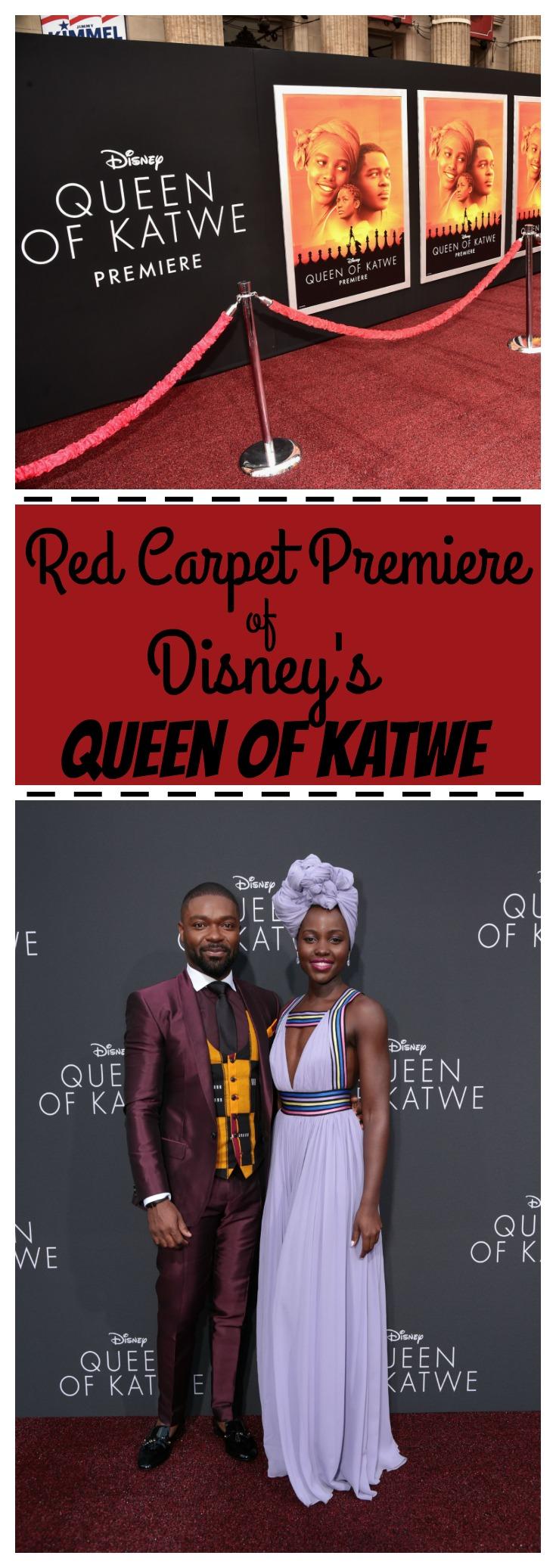Disney's Queen of Katwe Red Carpet Premiere