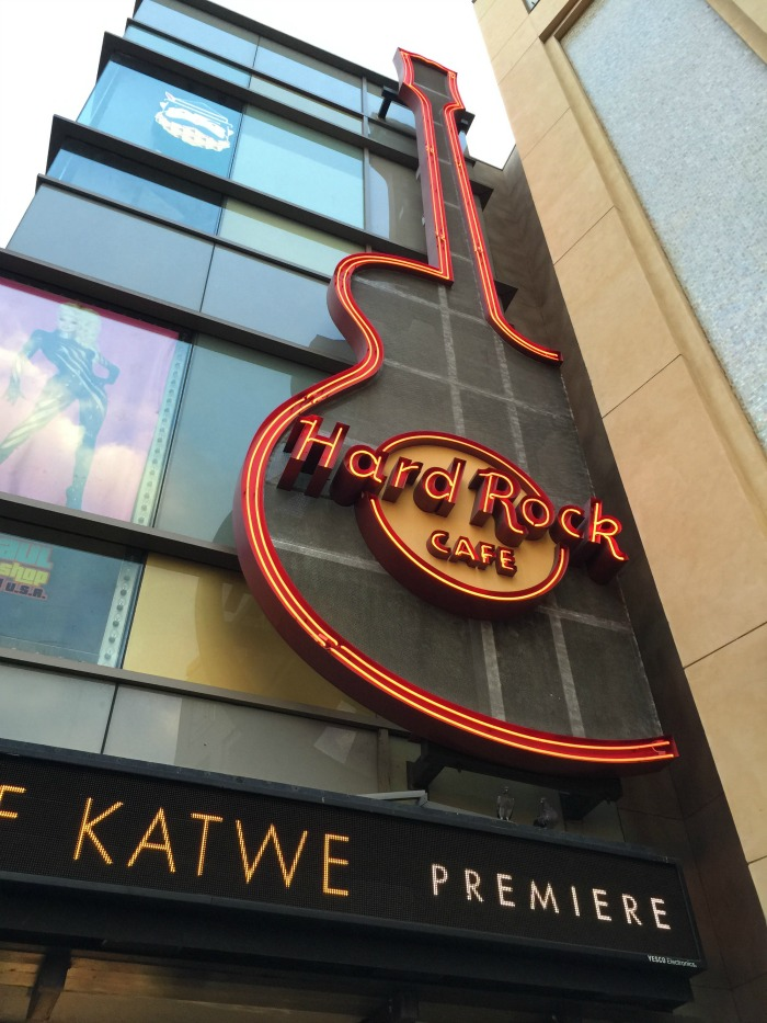 Hard Rock Cafe Queen of Katwe Premiere After Party