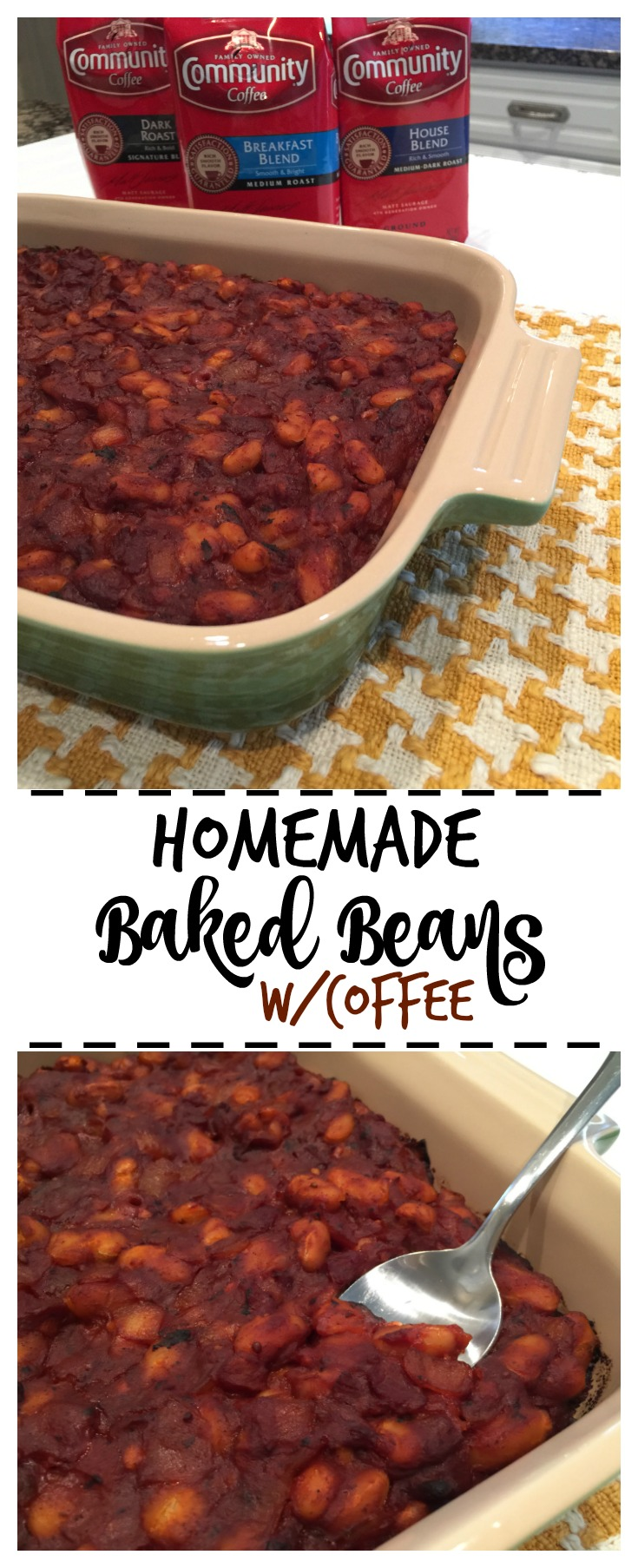 Homemade Baked Beans with Coffee