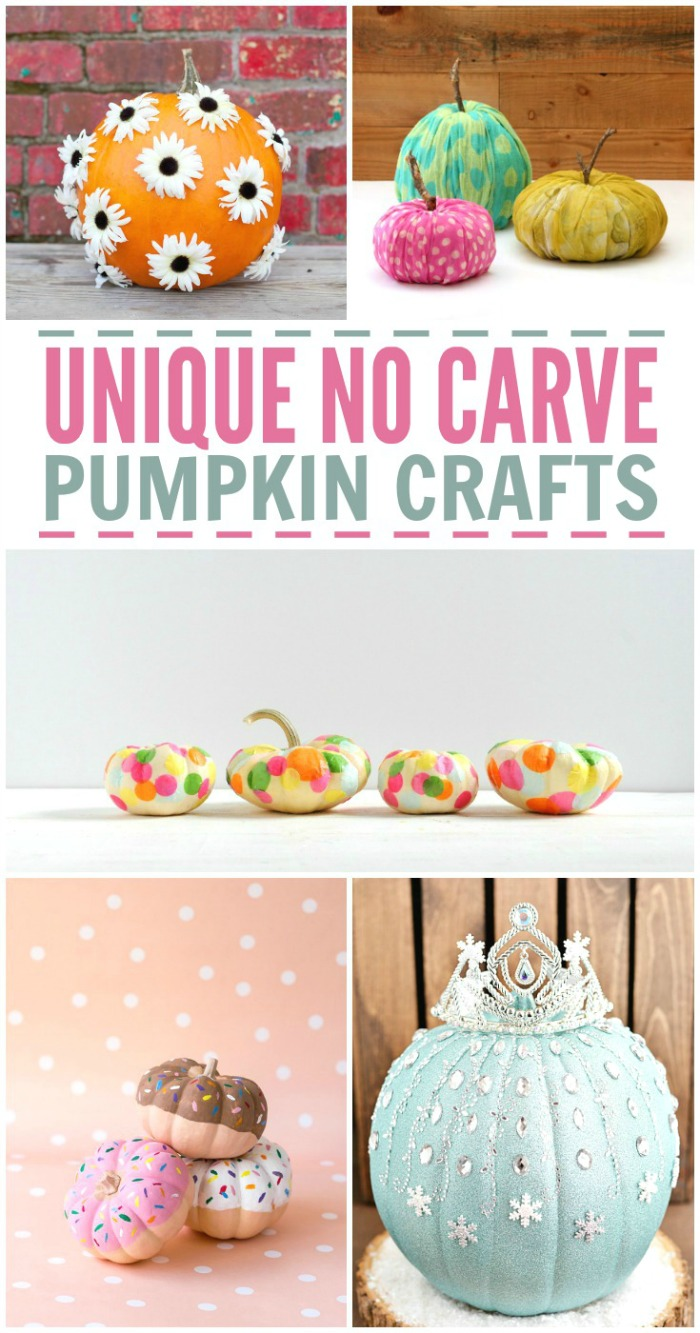 No-Carve Pumpkin Crafts