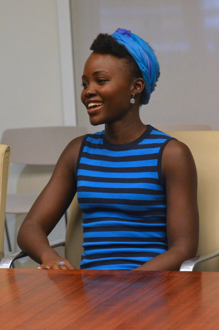 Queen of Katwe Lupita Nyong'o Interview