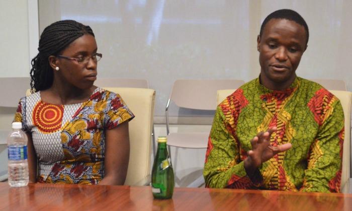 Queen of Katwe Phiona Mutesi and Robert Katende