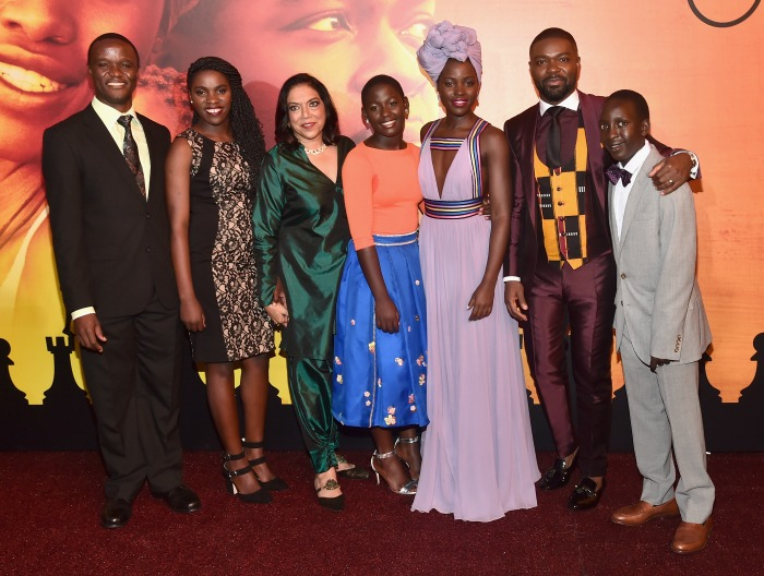 Queen of Katwe Premiere Cast Photo