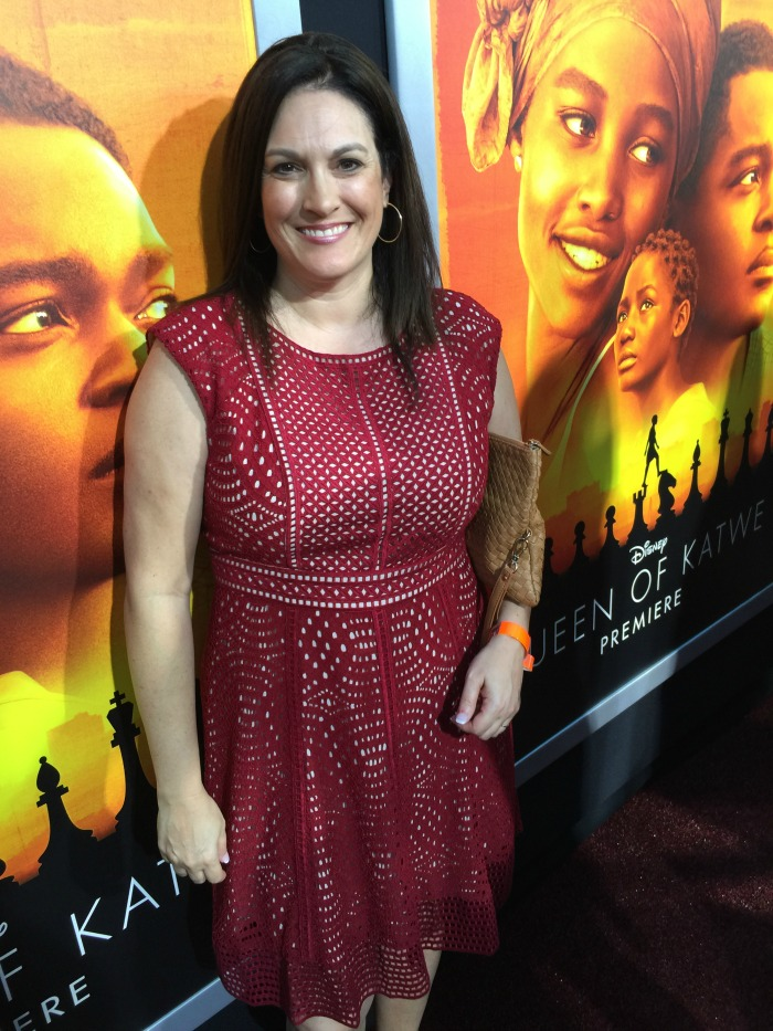 Queen of Katwe Red Carpet Premiere Dress