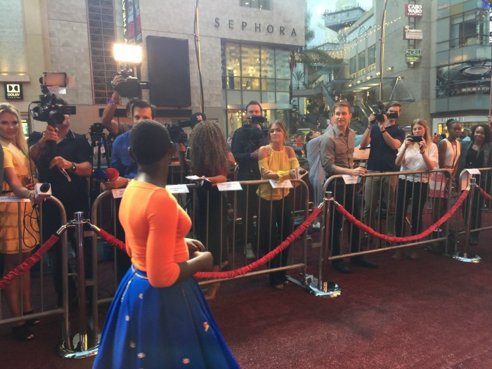 Queen of Katwe Red Carpet Premiere press