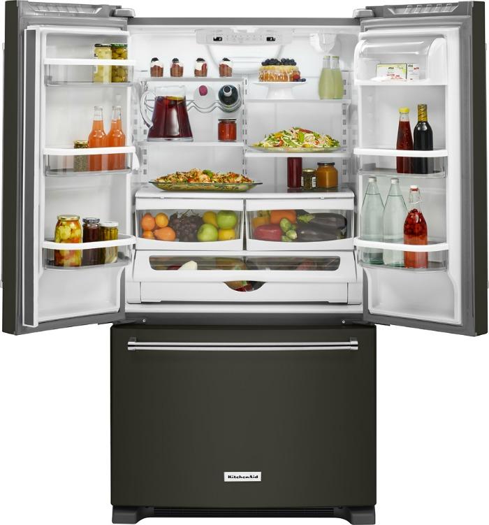 Black Stainless KitchenAid Appliances