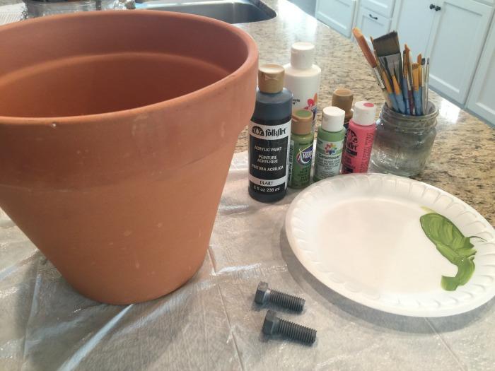 Frankenstein Clay Pot Craft Tools