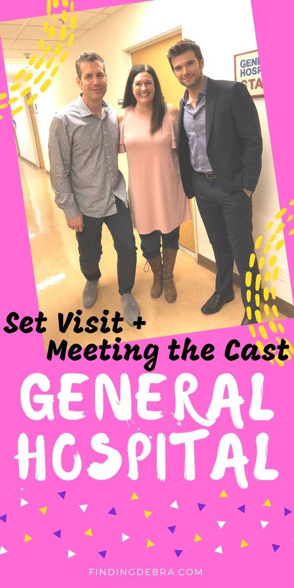 General Hospital Set Visit