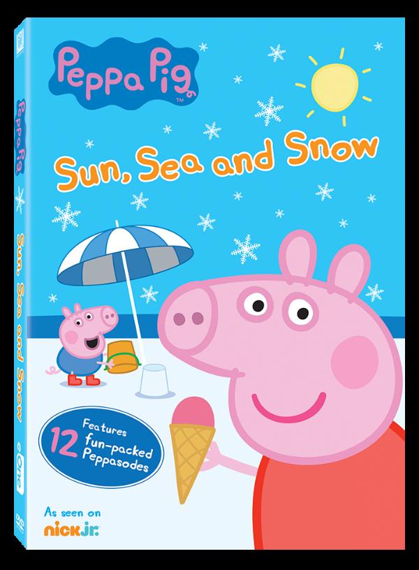 Peppa Pig DVD Giveaway