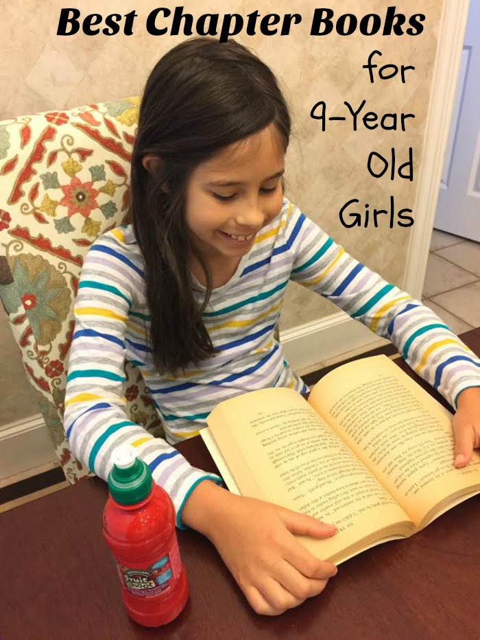 Best chapter book series for 9-year old girls