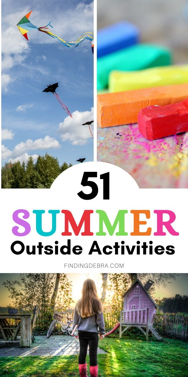 Backyard activities for kids this summer