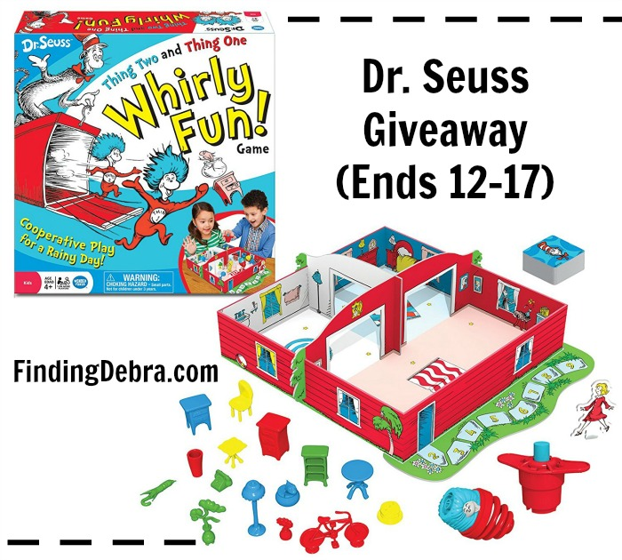 Dr. Seuss Thing Two and Thing One Whirly Fun Game