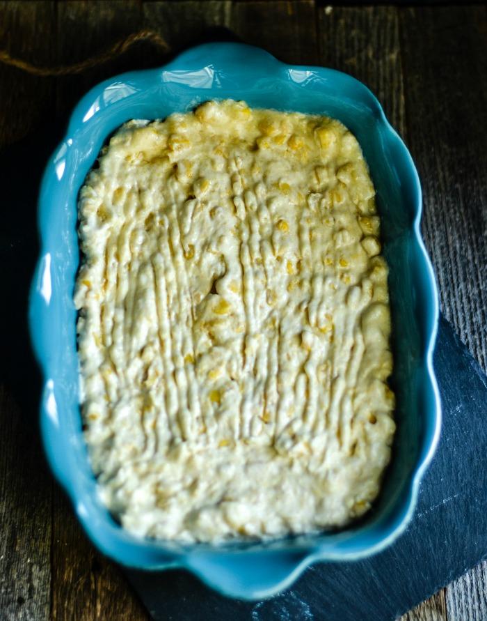 Easy Corn Casserole Preparation