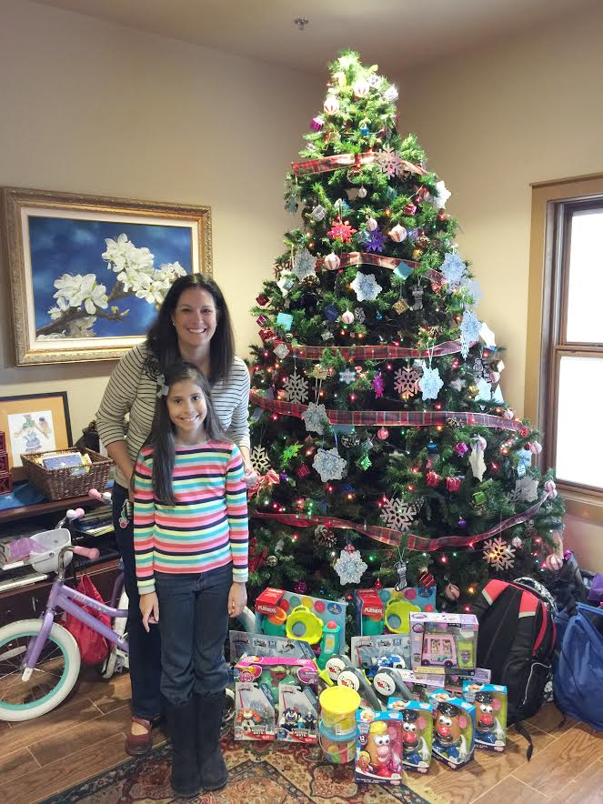 Teaching Kids about Giving during the holidays