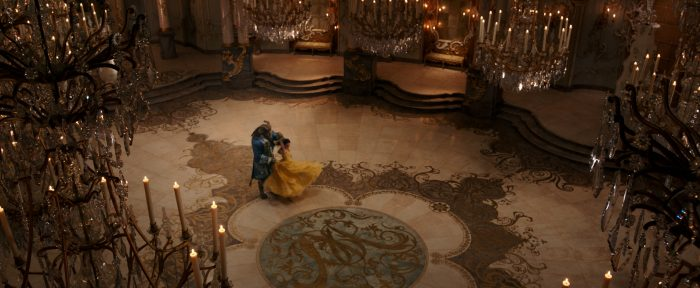 Beauty and the Beast 2017 ballroom scene