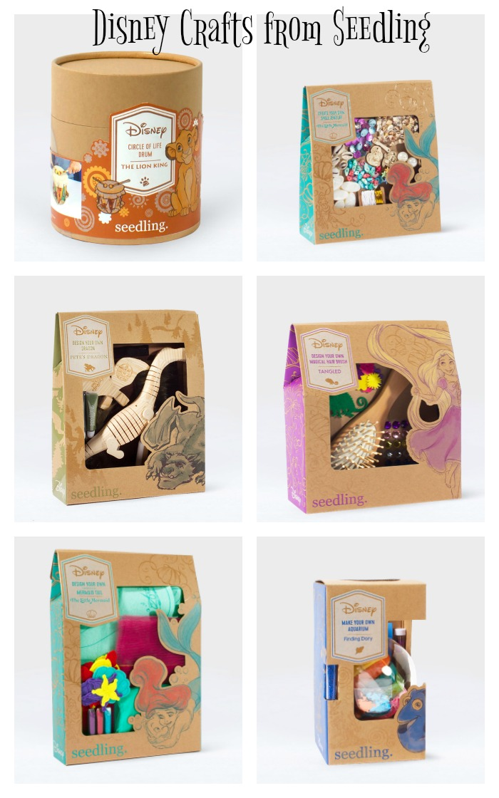 Disney Craft Kits from Seedling
