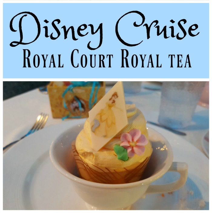 Disney Cruise Royal Court Royal Tea experience