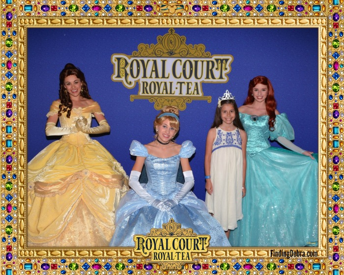 Disney Cruise Royal Court Royal Tea