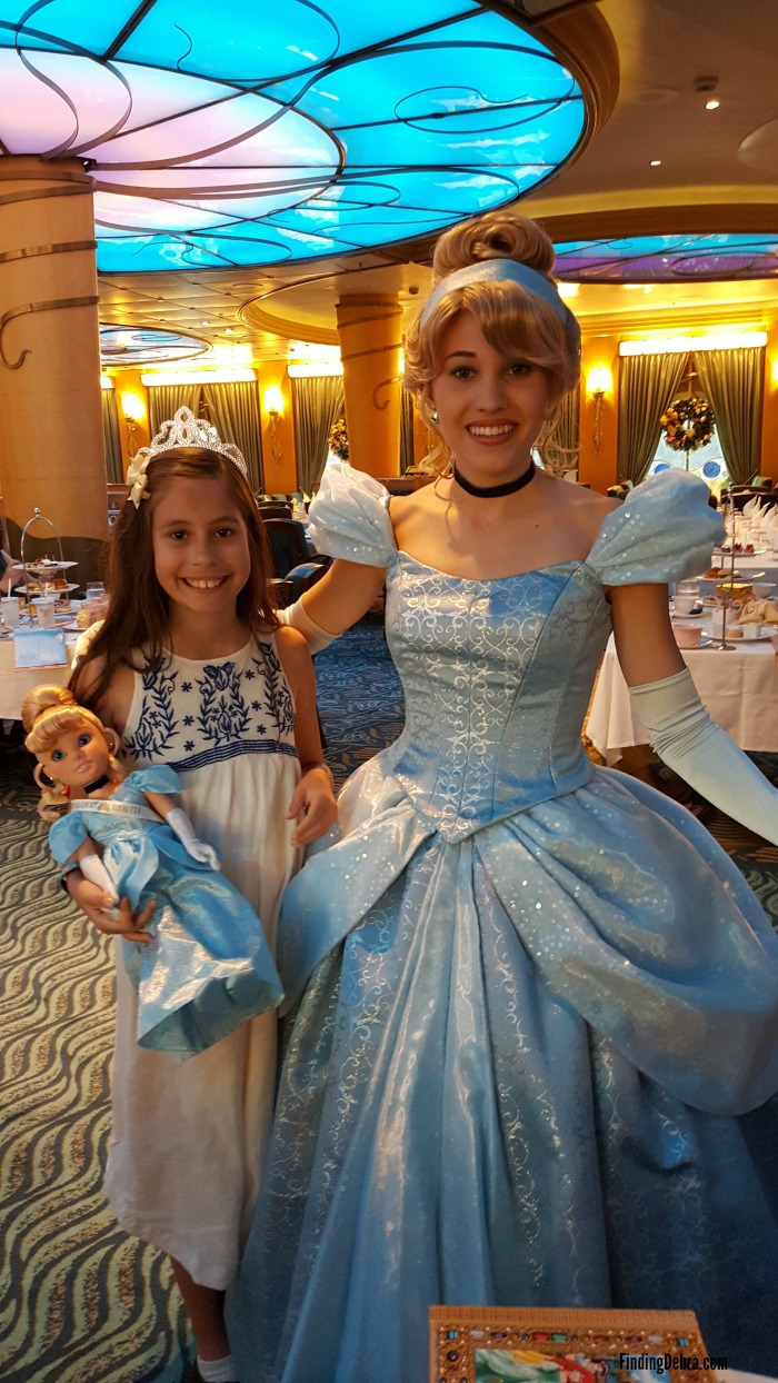 Disney Wonder Royal Court Royal Tea Princesses