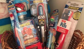 Firefly toothbrushes and oral care products