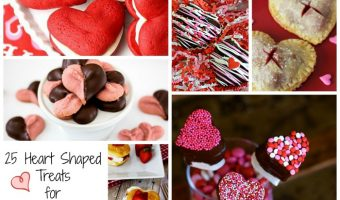 25 of the Best Heart Shaped Treats for Valentine's Day
