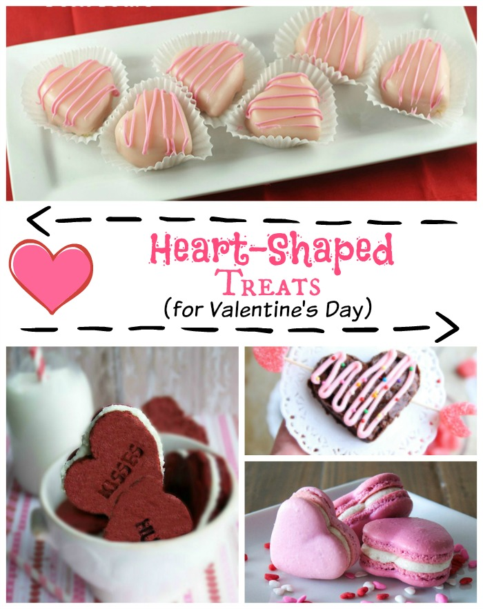 Heart Shaped Treats for Valentine's Day