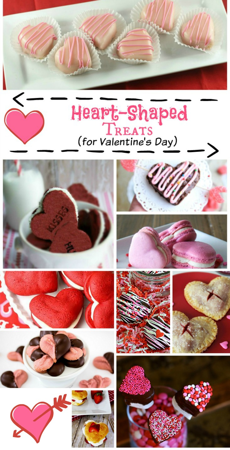 Heart Shaped Treats for Valentine's Day