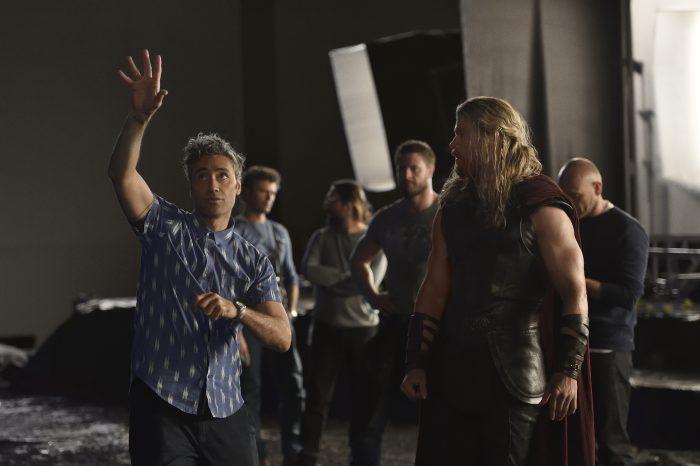 Thor Ragnarok behind the scenes
