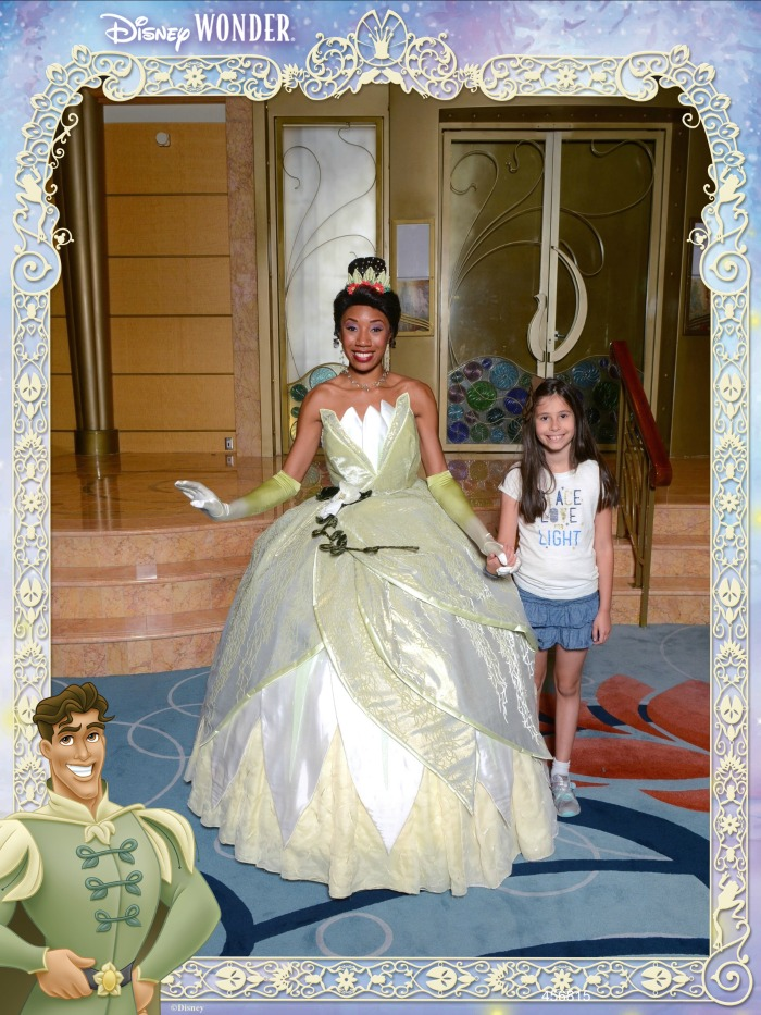 Tiana on Disney Cruise