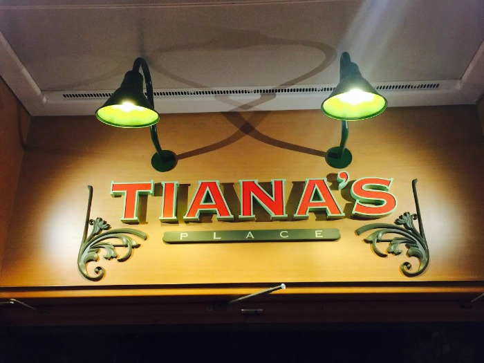Tiana's Restaurant Disney Wonder