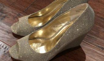 Cinderella Movie Costumes and Glass Slipper at Pre Premiere Reception #CinderellaEvent