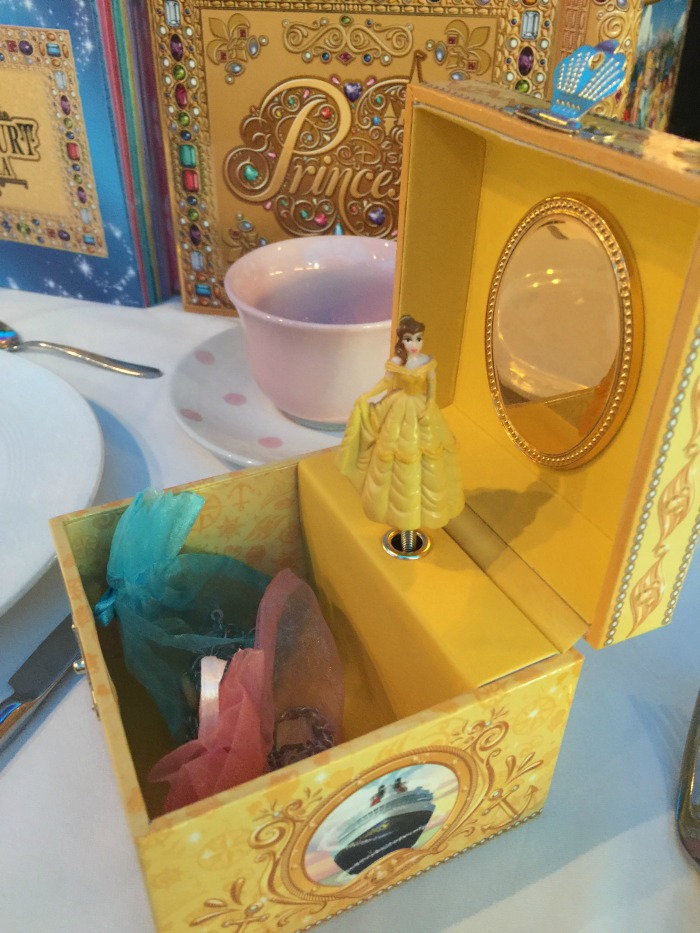 Disney Cruise Royal Court Royal Tea Jewelry Box