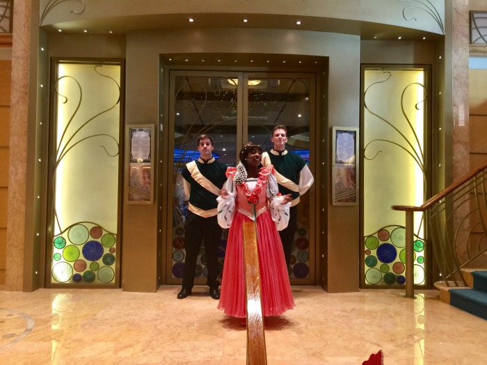 Disney Cruise Royal Court Royal Tea Lady Chamomile