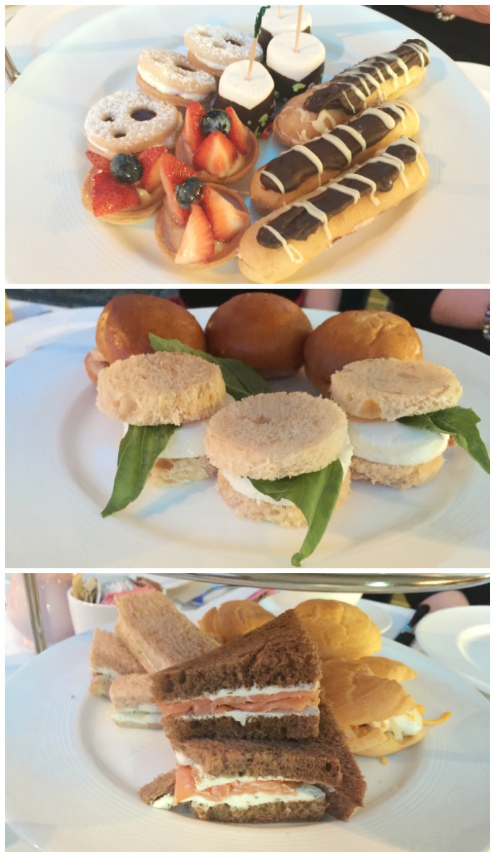 Disney Cruise Royal Court Royal Tea Tiered Treats