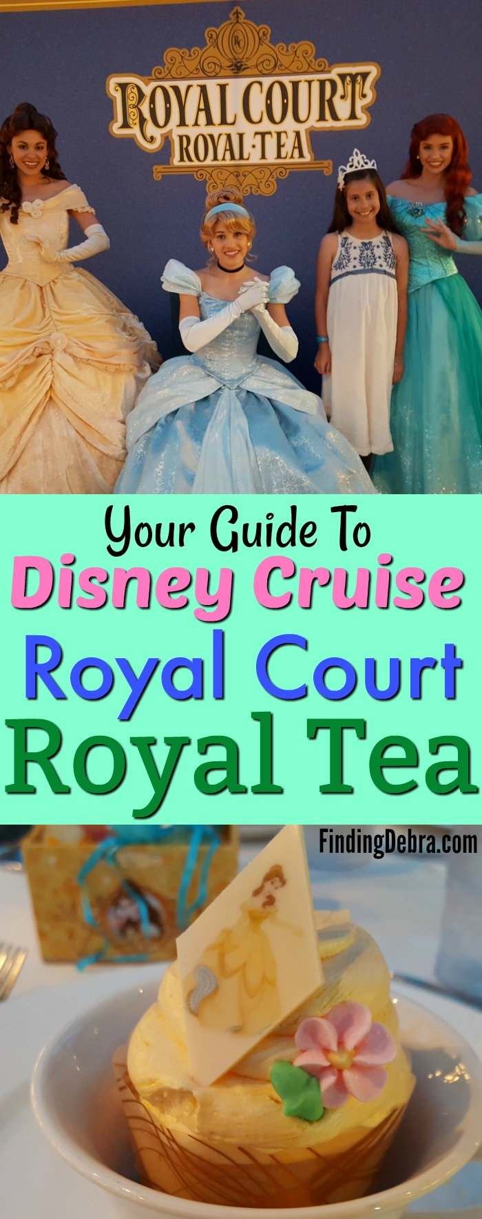 Disney Cruise Royal Court Royal Tea - Your Guide To