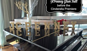 Getting the Red Carpet Look at the JCPenney Glam Ball  #JCPCinderellaMoment