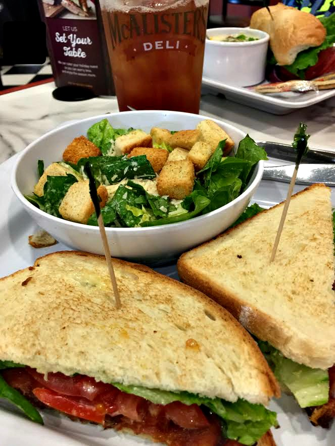 McAlister's Deli Salad and Sandwich