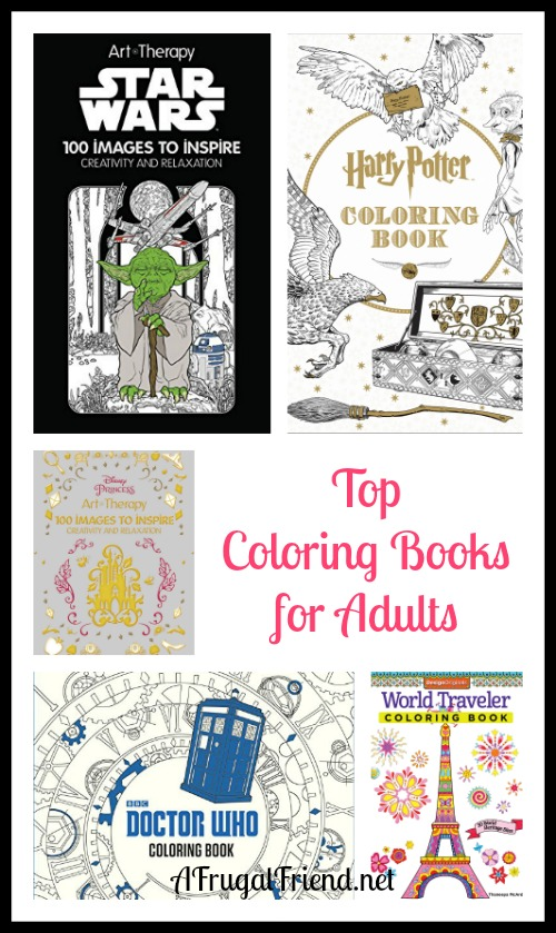 Top Coloring Books For Adults