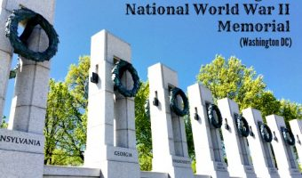 Visiting the National World War II Memorial in Washington, DC