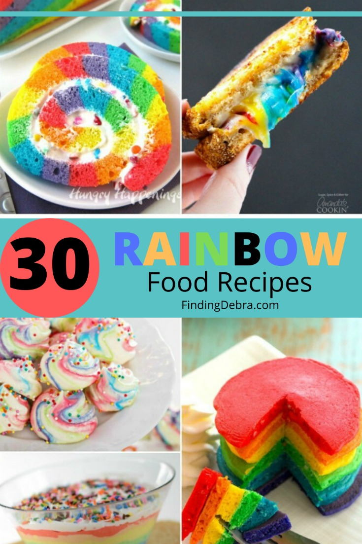30 Rainbow Food Recipes