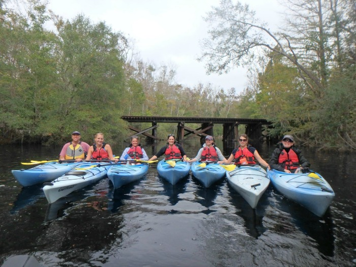 Kayaking Amelia Island