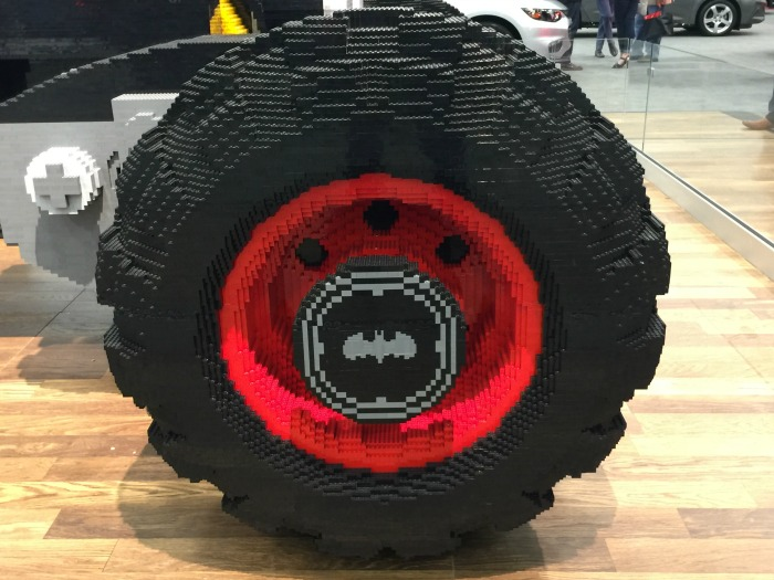 LEGO Batmobile car