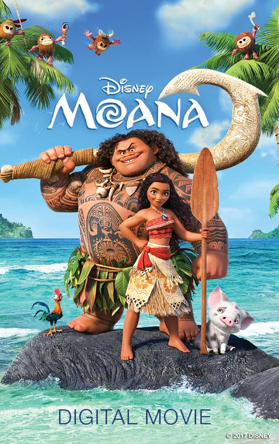 Moana Digital Movie
