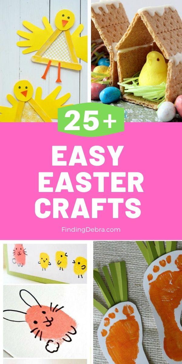 25+ Easy Easter Crafts for Kids
