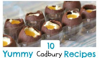 Ten Cadbury Recipes For Easter Treats