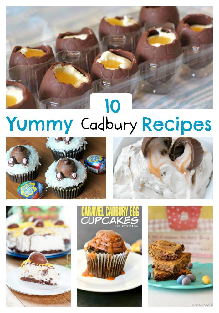 Cadbury Egg Recipes