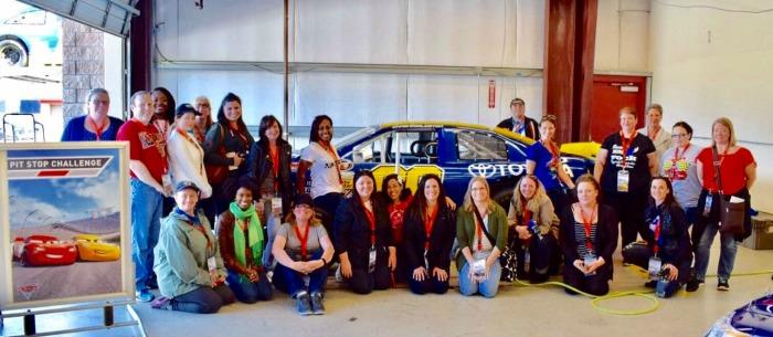 Disney Bloggers at Sonoma Raceway