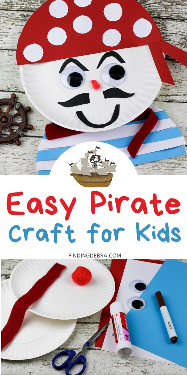 Easy Pirate craft for kids